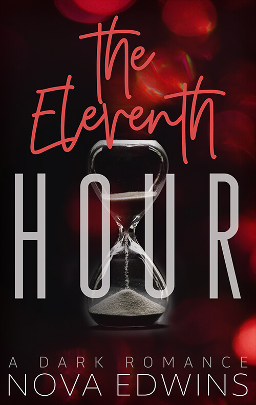 An hourglass on the cover of the eleventh hour